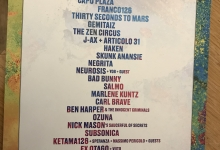 rock in roma line-up