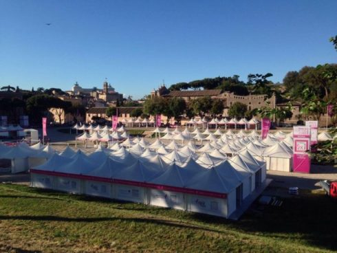 Race for the Cure Komen Roma Circo Massimo 2017