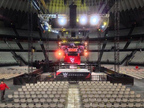 WWE Italia 2017 live @ Palalottomatica Roma