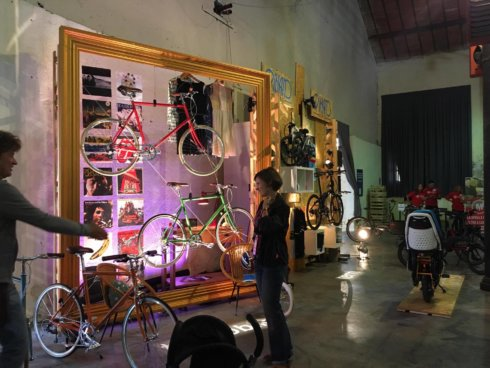 Kick Agency allestimenti, allestimenti, allestimento, Spin Cycling festival Roma, Guido Reni District, IMF Foundation