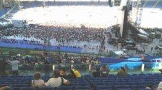 Kick Agency offre il servizio Runner per gli U2 allo Stadio Olimpico di Roma, Production Management, Produzione eventi, Gestione eventi