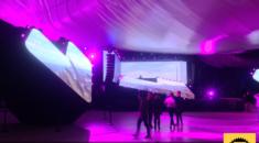 Asus Zenfone 4 - Allestimento presentazione ufficiale, Gruppo Peroni Eventi in collaborazione con Kick Agency presso il Roma Convention Center