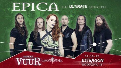 Kick Agency cura servizio di produzione per Epica a Bologna