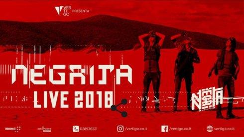 live show negrita al palalottomatica