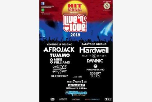 Hit mania live'n'love festival kick agency al servizio del live show dance