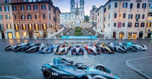 2019 Geox Rome E-Prix, la settima gara in Formula ABB FIA E con la produzione di Kick Agency nel Circuito Cittadino dell'EUR, Roma